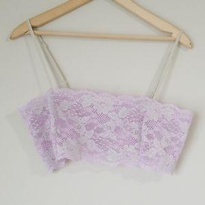 Victoria's secret sexy lace bandeau size L